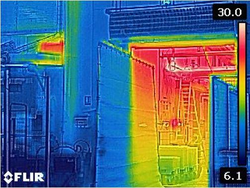 Stravent-ilmaverho-kylmävarasto